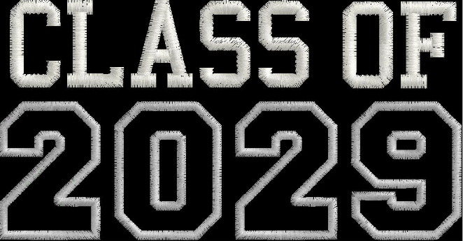 Class of 2029 Grow into Me T-shirt (other years available)